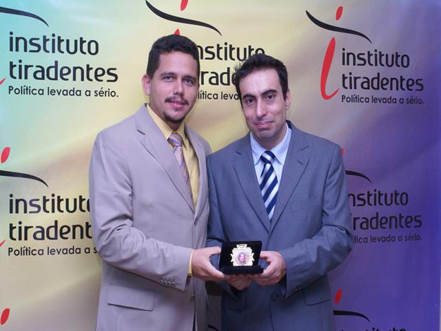 Instituto Tiradentes aponta Regys Sampaio como o vereador mais atuante de Esperantina