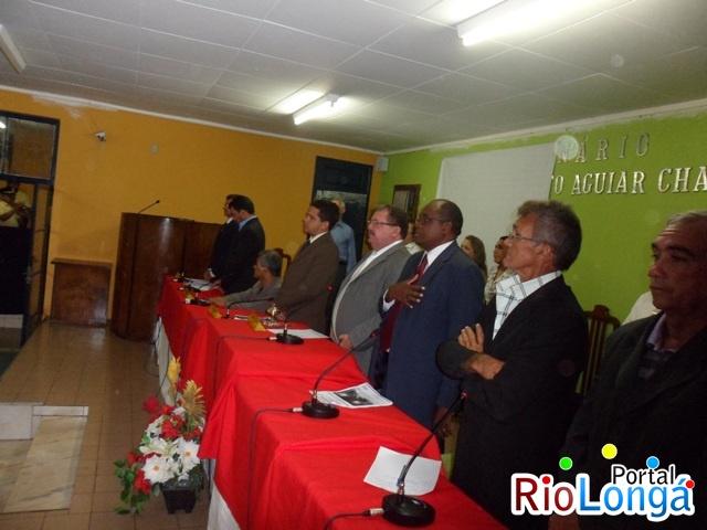 Câmara de Esperantina realiza sessão solene para abertura dos trabalhos legislativos de 2012