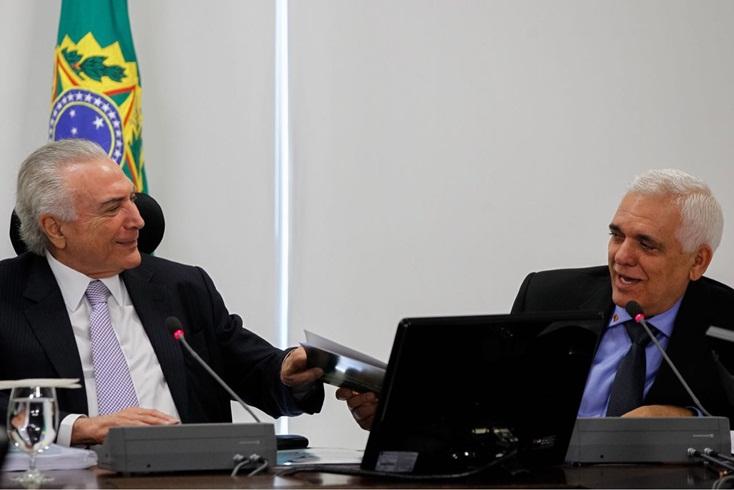 Themístocles Filho se reúne com Presidente Michel Temer e cobra melhorias para o Estado do Piauí